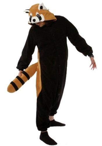 Red Panda Kigurumi - Adult Halloween Costume Pajama (One Size Fits All) front-748210