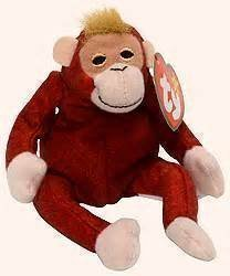 Mcdonalds Happy Meal TY Schweetheart the Orangutan Toy Plush Animal #12 2000