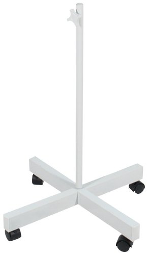 FLOOR STAND FOR MAGNIFIER LAMP, WITH WHEELS