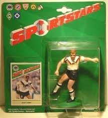 Sportstars (Starting Lineup) 1988 Rudi Voller Nationamannscaft - Football (Soccer) Figure with Card by Kenner