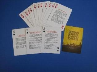Urban Survival Playing Cards - These aren't simply playing cards...they're a powerful survival tool for you and your loved ones to use if you need to survive in an urban area. by UrbSurv LLC