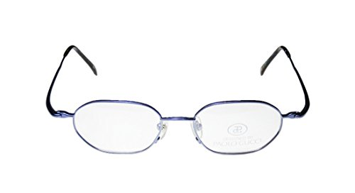 New & Season & Genuine - Brand: Paolo Gucci Style/model: 8212 Gender: Mens/Womens Optical Popular Design Designer Full-rim Eyeglasses/Eyewear (49-18-140, Blue) (Gucci Hair Brush compare prices)