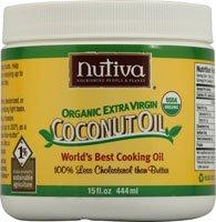 NUTIVA Organic Extra Virgin Coconut Oil 15 oz