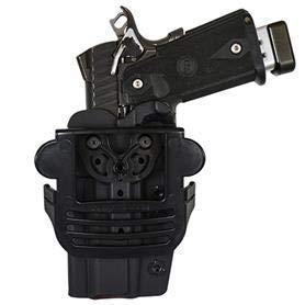 Comp-Tac International OWB Modular Mount Sig P320 X Five FS RSC Holster (Color: Black, Tamaño: SIG - P320 X - Five Full Size)