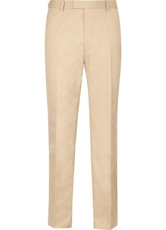 Austin Reed Contemporary Fit Stone Cotton Trousers SHORT MENS 32