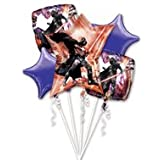 Star Wars Darth Vader Character Happy Birthday Party Foil Balloon Bouquet