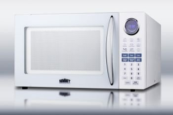 Summit 	microwave ovens Large 1000W microwave in white top rated