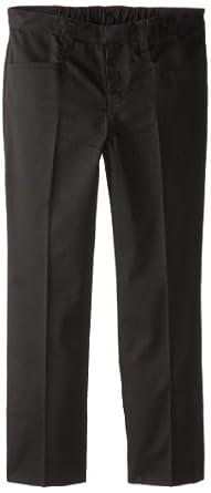 CLASSROOM Big Girls'  Plus-Size Plus Low Rise Pant, Black,8 1/2