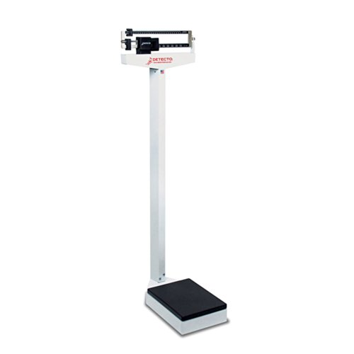 Detecto Eye Level Physician Scale 400 LB X 4 Oz Without Height Rod 10 1/2 X 14 1/2 Platform – Detecto 437