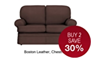 Charlotte Small Sofa - Leather