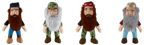 "Duck Dynasty 8"" Plush Character with Sound Assortment - 1"