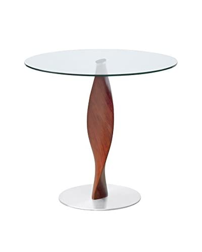 Manhattan Living Edge 30 Dining Table, Clear
