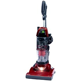 Panasonic Jetspin Cyclone Upright Vacuum Cleaner, Red Metallic, MC-UL915