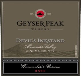 2011 Geyser Peak Devil'S Inkstand Winemakers Reserve 750 Ml
