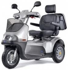 Breeze S 3-Wheel Scooter Electric Mobility Luxury Advanced With Batteries
