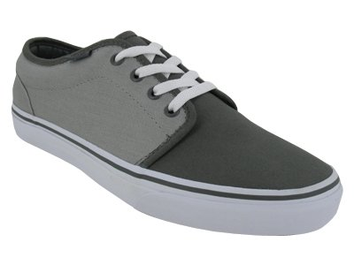 Unisex's VANS 106 VULCANIZED SKATE SHOES 4 (PEWTER/ASH)