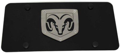 Harley Davidson Script on Bottom Harley Davidson Silver /& Black Bar /& Shield Logo on left Car Truck SUV License Plate Frame Black Metal