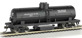 Bachmann Trains Track Cleaning Tank Car - MOW