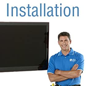 Basic On-Wall TV Installation and Mounting