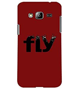 SAMSUNG GALAXY J3 FLY Back Cover by PRINTSWAG