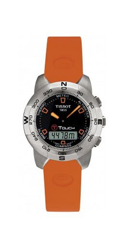 Tissot Men's Orange T-Touch Watch #T33.1.598.59 - Buy Tissot Men's Orange T-Touch Watch #T33.1.598.59 - Purchase Tissot Men's Orange T-Touch Watch #T33.1.598.59 (Tissot, Jewelry, Categories, Watches, Men's Watches, Sport Watches, Rubber Banded)
