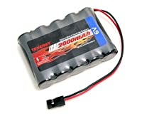 Tenergy 6V 2000mAh NiMH RX Battery Packs with Hitec Connector for RC Aircrafts and Walking Robot from Tenergy