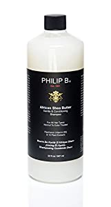 Philip B African Shea Butter Gentle and Conditioning Shampoo, 32 Ounce