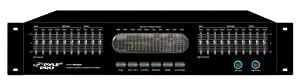 Pyle-Pro PPEQ200 Dual 10 Band Stereo Graphic Equalizer w/Spectrum Display