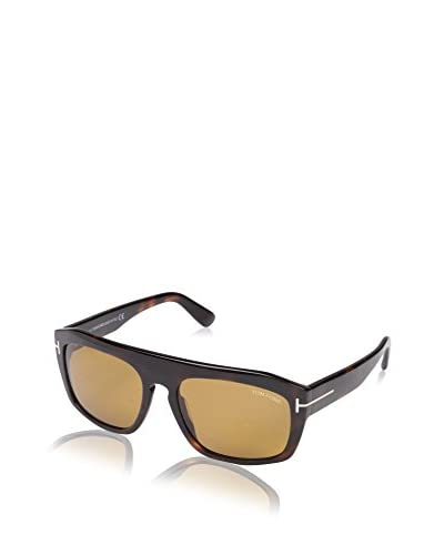 Tom Ford Women's FT0470-56E Designer Sunglasses, Havana