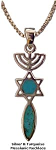 Messianic Necklace Pendant Spiritual Religious Women's Men's Jewelry