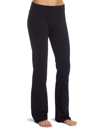 Red Dot Women's Foldover Yoga Pant, Black, Small