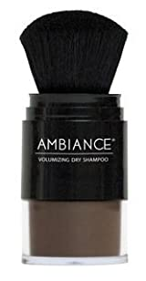Ambiance Cosmetics Volumizing Dry Shampoo with Brush Applicator and Free Refill