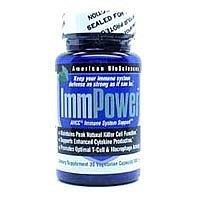 BioSciences américains - ImmPower AHCC 30 vcaps