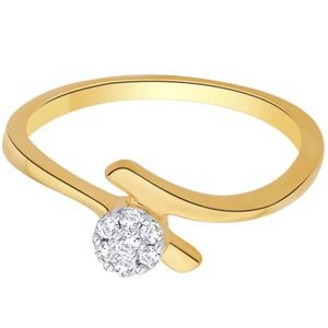 Nakshatra Diamond Ladies Ring NRC763 | Color Yellow