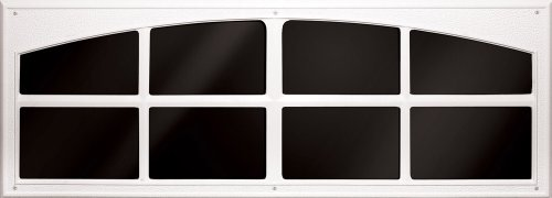 Images for Coach House Accents Simulated Garage Door Window (2 windows per kit) - White - Model AP143199