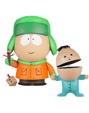 Buy Low Price Mezco South Park: Kyle Figure [Series 2] (B005001YW8)