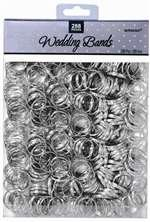Wedding Bands Silver 288 Count