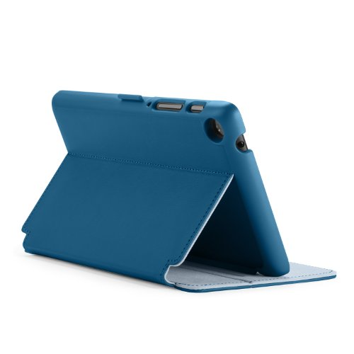 Speck Products Stylefolio Case and Stand for Google Nexus 7 Tablet, Deep Sea Blue/Nickel Grey (Nexus 7 Case Blue compare prices)