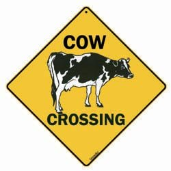 Sign: Cow