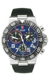 Victorinox Swiss Army Summit XLT Chronograph Blue Dial Men's Watch #241406
