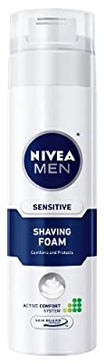 Best Cheap Deal for NIVEA MEN Sensitive Shaving Foam with Skin Guard, 8.7 oz Bottle (Pack of 3) by Beiersdorf, Inc. - Free 2 Day Shipping Available