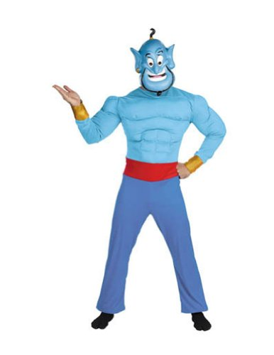 Genie Muscle Chest Adult Adult Mens Costume