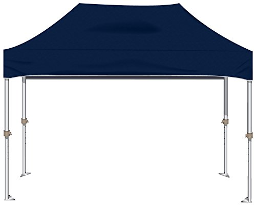 Kd Kanopy Xtf150Nb Xtf Aluminum Frame Indoor/Outdoor Portable Canopy, 10 By 15-Feet, Navy Blue