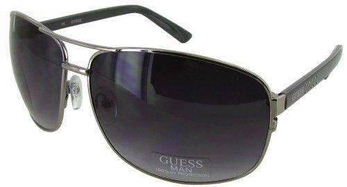 Guess GU6325 Aviator Style Mens Sunglasses