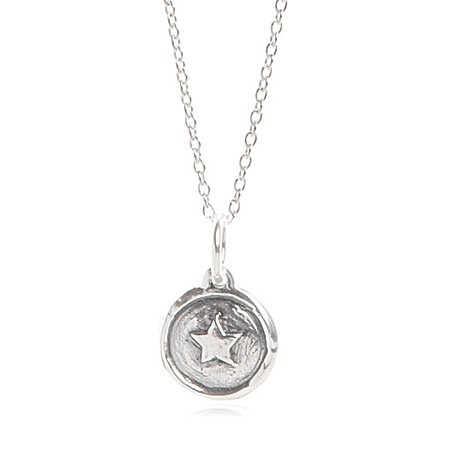 Kids Sterling Silver Girl Power Necklace