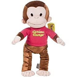 Curious George 13in small stuffed animal plush toy