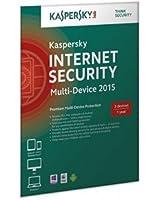 Kaspersky Internet Security 2015 Multi Device 3 User 1 Year Retail DVD Box (UK) (PC DVD)