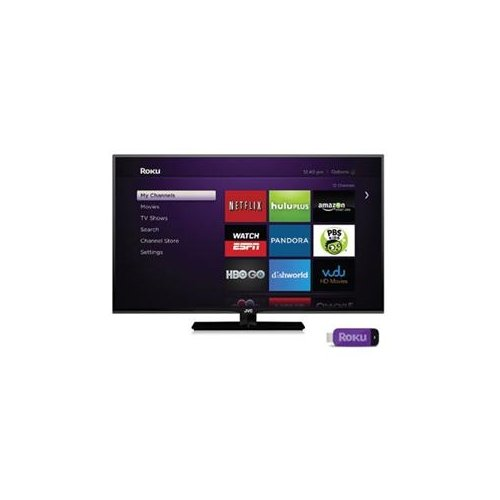 "Jvc Emerald Em42Ftr 42"" 1080P Led-Lcd Tv - 16:9 - Hdtv W/Roku Ready® Streaming Stick. / Em42Ftr /"