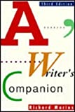A Writer's Companion (0070405263) by Marius, Richard