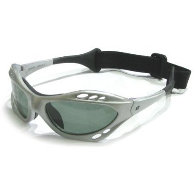 Birdz Seahawk Polarized Sunglasses Floating Water Jet Ski Goggles Sport Silver Designed for the demands regularly encountered while KiteBoarding, Surfing, Kayaking, Jetskiing, or any other water sports.